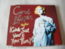 CYNDI LAUPER - HEY NOW (GIRLS JUST WANT TO HAVE FUN) - UK CD SINGLE