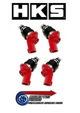 Set 4 x Genuine HKS Uprated 740cc Injectors- For S14a 200SX Kouki SR20DET
