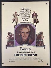 Original 1971 THE BOYFRIEND / TWIGGY 30 x 40 Theatre Movie Poster