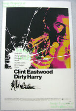 80s Vintage DIRTY HARRY Clint Eastwood Magnum Zodiac Killer ☆ Lobby Card Poster