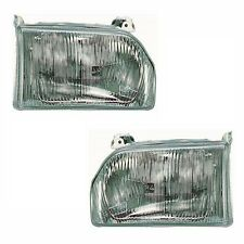 Ford Orion 1986990 Headlights Headlamps Lighting Spare Part 1 Pair O/S & N/S