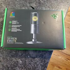 Razer Seiren Emote - USB Microphone for Streaming
