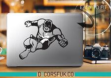 La cosa MacBook adesivi in vinile nero | FANTASTICI QUATTRO | MacBook Decalcomanie