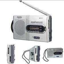 AM/FM Pocket Mini Radio - Portable Radio with telescopic antenna BRAND NEW