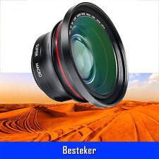 Besteker Pro HD 72MM 0.39x Photo Wide Angle Lens Macro Lens For 37MM DV Camera