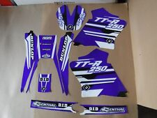 FLU Designs PTS4 Team Yamaha graphics TTR250  2000--2012