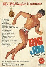 X4534 Big Jim Olimpico - MATTEL - Pubblicità 1976 - Advertising