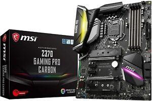 MSI Z370 GAMING PRO CARBON LGA 1151 300 Series Intel  USB 3.1 ATX Motherboard
