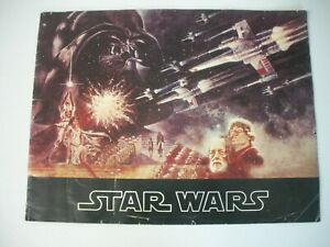 ORIGINAL STAR WARS 1977 MOVIE THEATRE SOUVENIR PROGRAM LUCASFILM FOX PRODUCTION