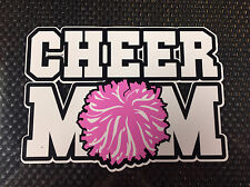 CHEER MOM Window Vinyl Decal sticker, Truck Decal ,Car Sticker, Bumper sticker