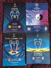 More details for champions league cup final programmes