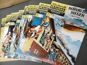 Hethke: 8 x ILLUSTRIERTE KLASSIKER Comic Hefte (BSV Reprints)  [4037]