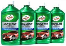4 Bottles Turtle Wax 16 Oz High Gloss Best Way To Shine & Protect Car Liquid Wax