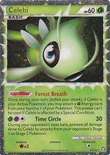 PRIME Pokemon CELEBI Card HS TRIUMPHANT  92/102 Heart Gold & Soul Silver