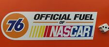 """Union 76 Official Fuel Of NASCAR Sticker Decal 8"""" x 2.5"""" Hot Rod Racing"""