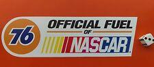 """Union 76 ufficiale di carburante di NASCAR Sticker Decal 8"""" x 2.5"""" Hot Rod Racing"""