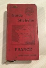 GUIDE MICHELIN FRANCE 1911 - bon état