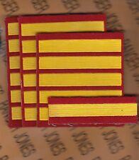 USSR CCCP MVD Uniform rank sleeve patch set