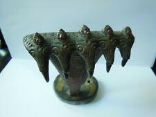 Bronze Serpents et Griffe Cabinet de Curiosités  Travail Oriental 1930/40