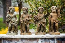 """24"""" Four Season CHERUB cement Garden statue"""