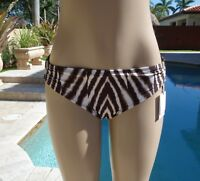 NEW Calvin Klein Swimwear Shirred Hardware Hipster Bikini Bottom Sz/Color Choice