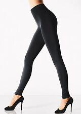 Wolford Velvet Sensation Leggings, 150 Denier Fleece Lined Leggings Black M