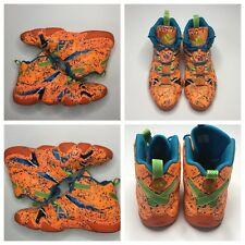 Adidas Kobe Crazy 8 All Star Houston Size 13 Rare G98719 Orange Blue Splatter