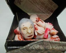Casa De Muñecas En Miniatura Jack el Destripador/victoriana asesinato Cuerpo En Tronco