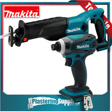 Makita Reciprocating Saw Brushless Impact Driver Cordless Combo XDT13 BJR182