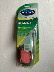 Dr. Scholl's Athletic Series Insoles for Women Size 51/2-9 New
