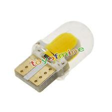 2x Warm White T10 194 168 W5W 3W 8 SMD COB Super Bright SILICA LED Light Bulb
