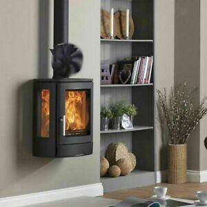 6 Blades Fireplace Fan Wood Stove Fan Heat Powered Eco Fan For Wood Log Burner b