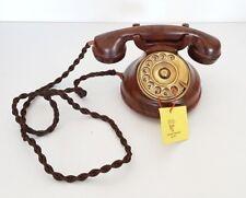 Telefono fisso vintage in legno Sitel mod. 72500