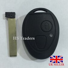 For ROVER MG BMW MINI ONE COOPER R50 ZT ZR 75 2 BUTTON REMOTE KEY CASE BLADE A60