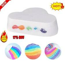 Bathing Salt Rainbow Soap Ball Handmade Skin Care Bath Bomb Bubble Massage SPA