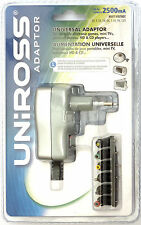 Alimentatore Universale - Uniross U0151788 - 3-8.4V/2500mA/14.3W