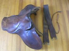 Miller Harness Co. NY -English Riding Saddle Made in Argentina & Tack c.1940's
