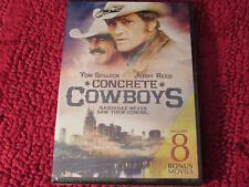 CONCRETE COWBOY:INCLUDES 8 BONUS MOVIES 2 DVDS 2016 JOHNNY CASH  JOHN DENVER NEW