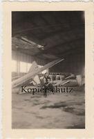 Foto Segelflugschule Grossrückerswalde Segelflugzeug Segelflieger Hangar Pimpfe