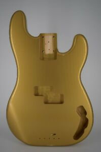 Bass Body, Aged Nitro, 1 Piece Pine, USA Made, PB57, Rosser Guitars, 4.4 lbs