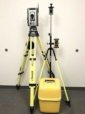 "Trimble RTS555 DR STD 5"" Robotic Survey Total Station w/ Nomad MEP Surveying S6"