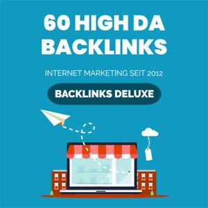 60 High DA Backlinks - 100% manuelle Bearbeitung - SEO - Forenprofile