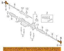 AUDI OEM 15-16 Q3 Steering Gear-Outer Tie Rod End 1K0423812K