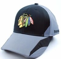 Chicago Blackhawks Reebok TT20Z NHL Practice Cap Flex Fit Hockey Cap Hat S/M