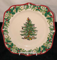 "Spode England CHRISTMAS TREE * 70th ANNIVERSARY 8 3/4"" SQUARE PLATE*"