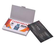 1 Boîte Boîtier Etui Porte Carte de Visite Crédit Billet Rangement Durable Neuf