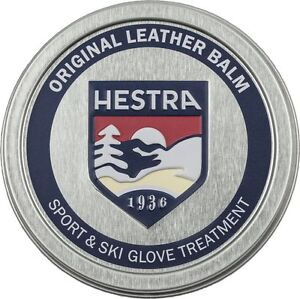 NEW 2021 Large 60ml TIN HESTRA Original Leather Balm Sport Ski Glove Mitten Care
