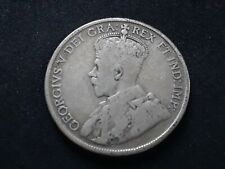 Canada 50 cents George V