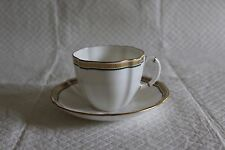 Royal Crown Derby 1st Quality Cup & Saucer - A1302 Carlton Green