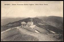 cartolina BOBBIO strada provinciale bobbio-voghera-valico monte penice